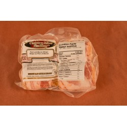 Pork & Bacon Wraps (500g - 4/pkg)