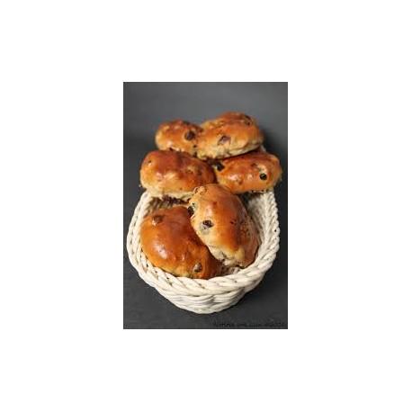 Eastway Bake Shoppe Currant Buns (1/2doz)