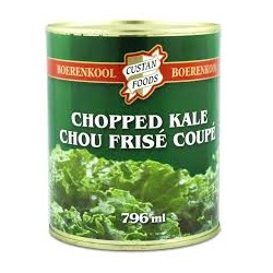 Boerenkool (canned chopped kale)
