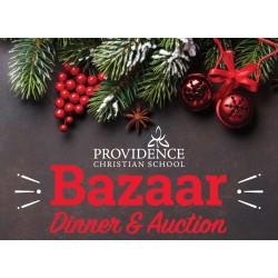 2018 Bazaar Dinner Reservation EARLY BIRD